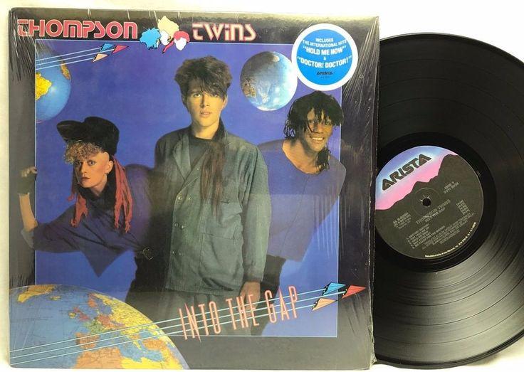 "Thompson Twins Into The Gap ""Hold Me Now"" Original US - LP, Vinyl, Record, Album stores.ebay.com/capcollectibles"
