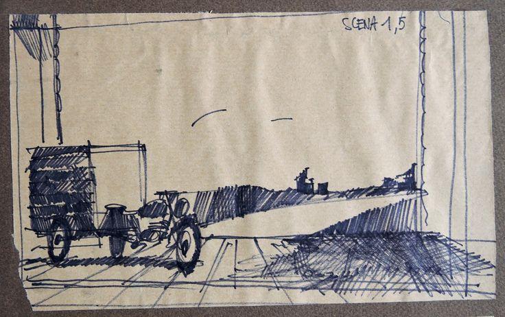 La strada / Musiche di Nino Rota / Appunto per una scena • GianVincenzo Gatti