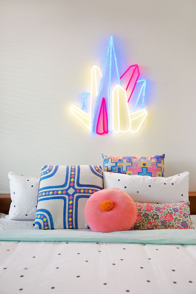 Crystal Prism By Electric Confetti. Light DecorationsModern BedroomsThe ...