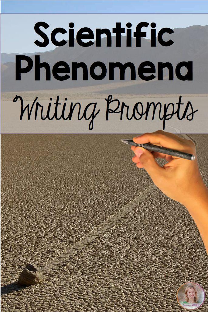 Scientific phenomena writing prompts #ngss #phenomena #writingprompts #literacy