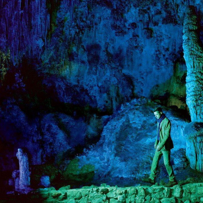 Brad Pitt at Carlsbad Caverns National Park in #NewMexicoTrue