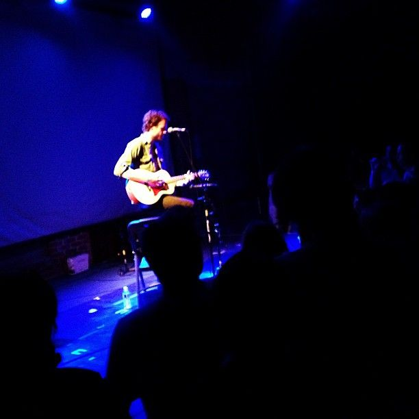 J. Tillman.  Father John Misty. Acoustic performance @ Bootleg theater 10/3/12 Photo by nogus57