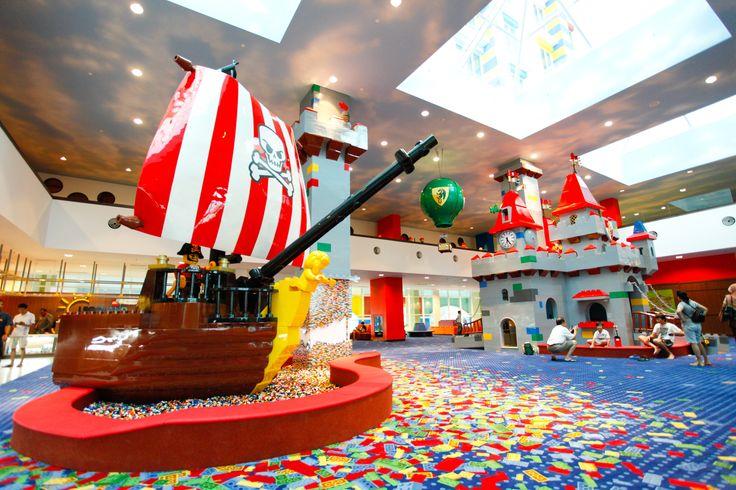 Hotel Lobby at LEGOLAND Malaysia