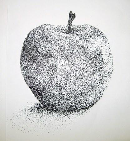 Sketch Book Idea-Stipple using pen.