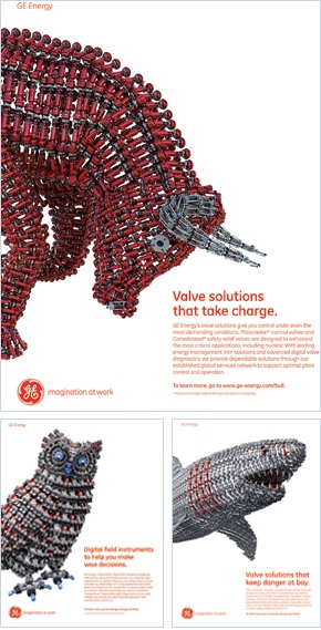 BtoB's Best WINNER - Print Campaign (less than $200,000): GE Energy Masoneilan & Consolidated Products; Eric Mower+Associates