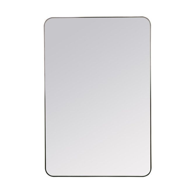 Refreshingly Rectangular Mirror Rectangular Mirror Framed Mirror Wall Mirror