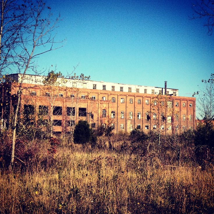 Abandon Factory. Fall Owosso MI. 2012