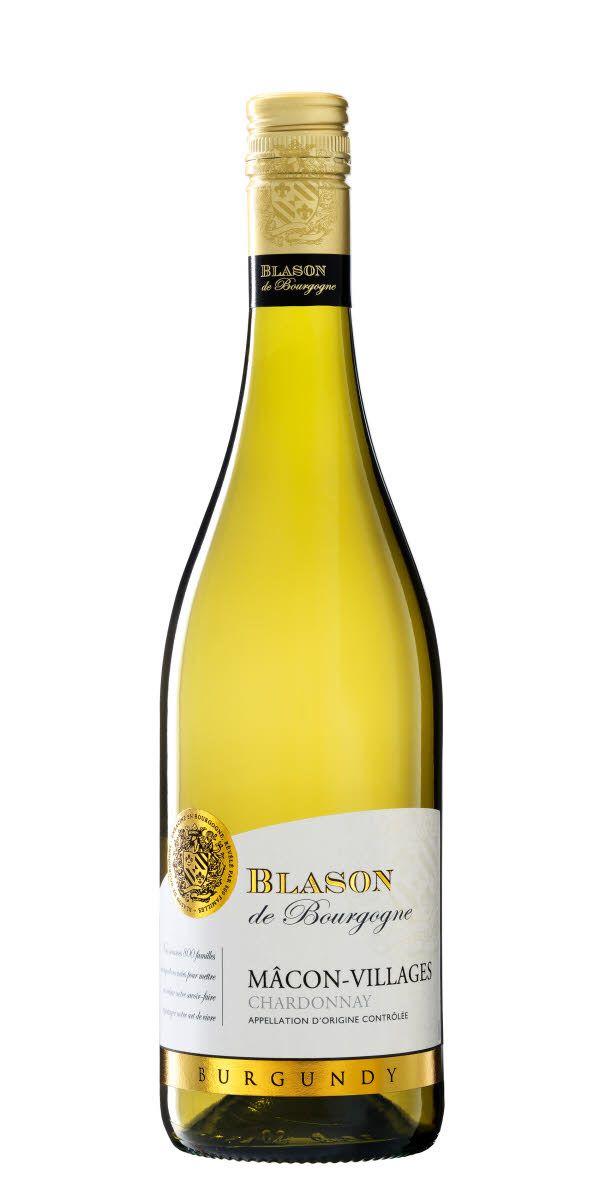 Vit Bourgogne på druvan Chardonnay. Detta vin ger en gul fruktighet, citrus och en balanserad syra.