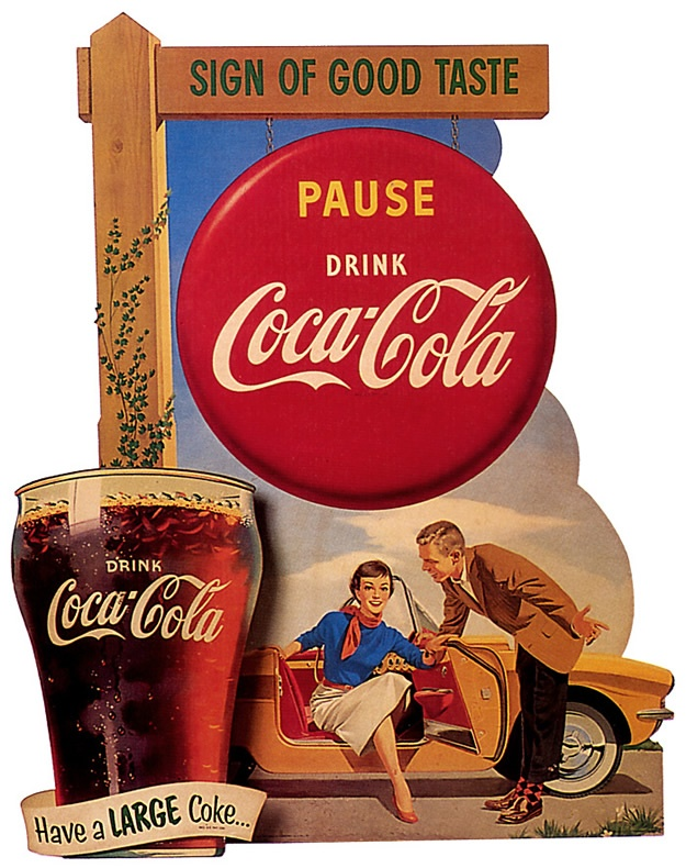 vintage coco cola ad Nice selection of old vintage coke, coca cola ads from the early 1900's on up we are always adding inventory.