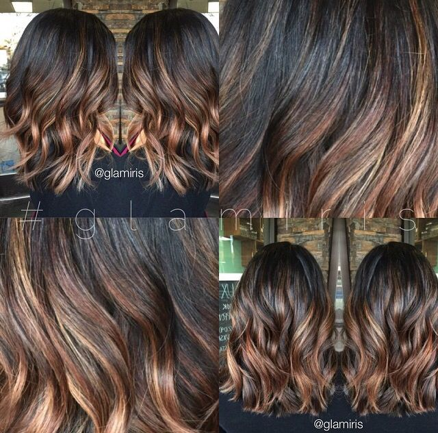 Ombre Balyage Lob All About Hair Pinterest Shattered