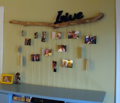 23 Best Images About Log Stick Picture Frames On Pinterest