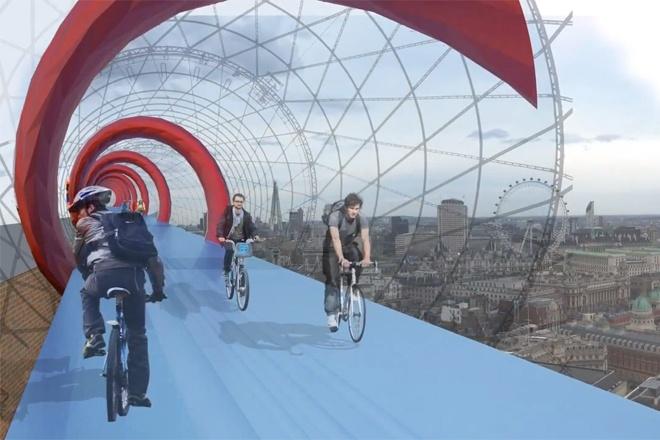 Ciclovias elevadas – o sonho dos ciclistas pode se tornar realidade em Londres http://www.bluebus.com.br/ciclovias-elevadas-o-sonho-dos-ciclistas-pode-se-tornar-realidade-em-londres/