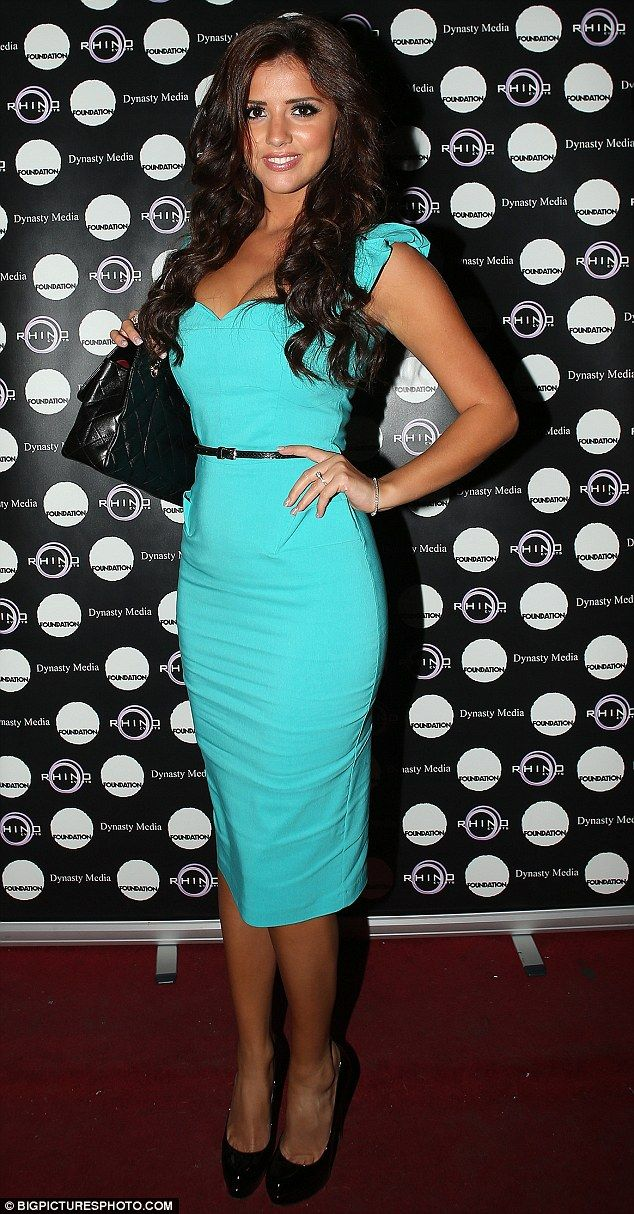 Shades of blue dress lucy mecklenburgh images
