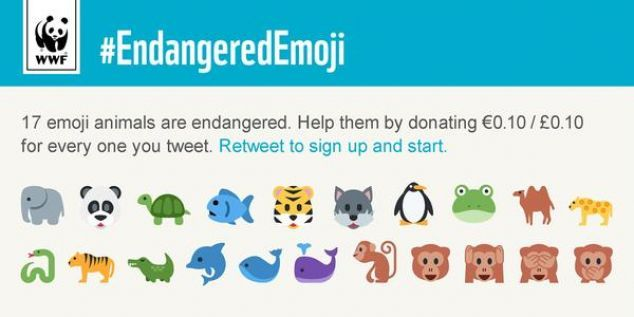 Lessons from WWF's #EndangeredEmoji campaign | The Drum @wwfuk
