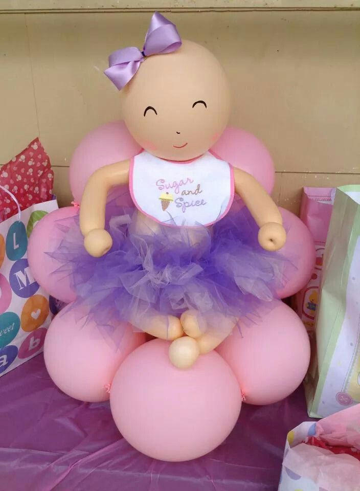 Baby Balloon, Baby Shower Balloons, Balloon Tree, Wholesale Balloons, Shower  Pics, Shower Ideas, Balloon Decorations, Girl Baby Showers, Its A Girl