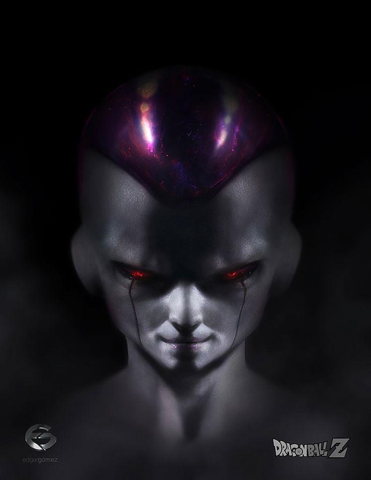 Freeza - Temidos Vilões de Dragon Ball Z em Ilustrações Realistas por Edgar Gómez