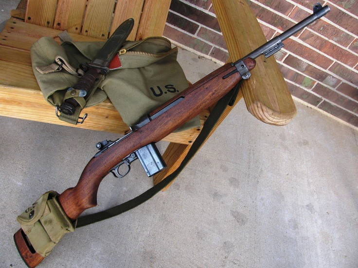 M1 Carbine (IBM Corporation) - An M1 Carbine was the first firearm I ever shot; I must have been 7 or 8 when Dad took me shooting with my older brothers.