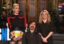 Gwen Stefani Asks SNL Host Peter Dinklage About Jon Snow