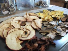 Le séchage des fruits légumes et herbes aromatiques
