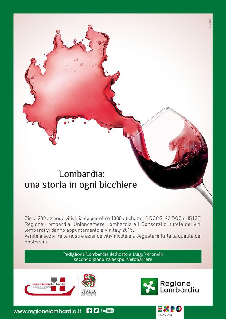 Unioncamere Lombardia, Vinitaly 2015. Design by Tiziana Moretti co newtarget