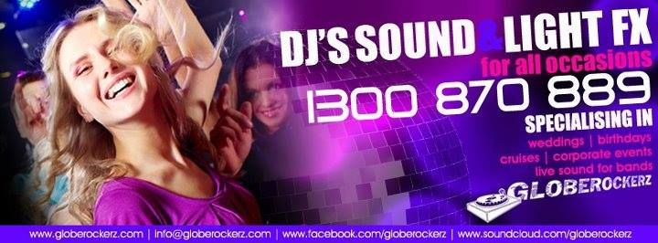 DJ Sound & Lighting Services  www.globerockerz.com