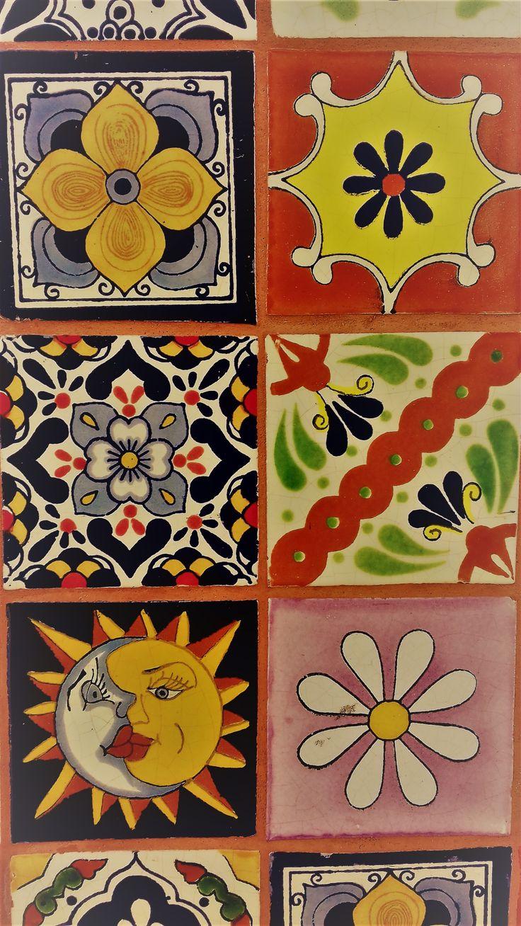 10 mejores ideas sobre azulejos mexicanos en pinterest for Azulejo sobre azulejo