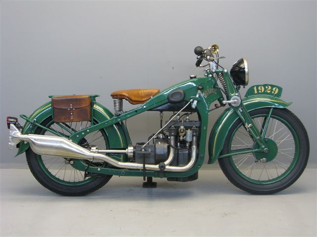 1929 Dresch Antique Motorcycle                                                                                                                                                                                 More