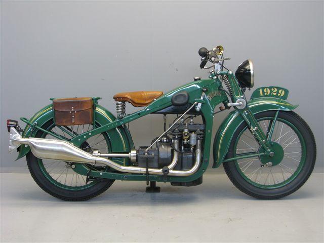 1929 Dresch Antique Motorcycle                                                                                                                                                                                 More
