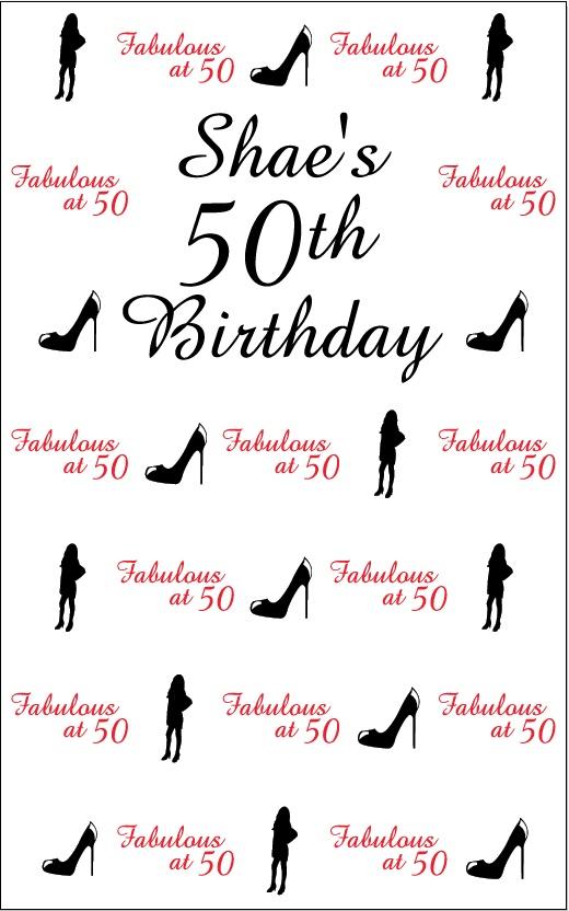 Shaes 50th BIrthday
