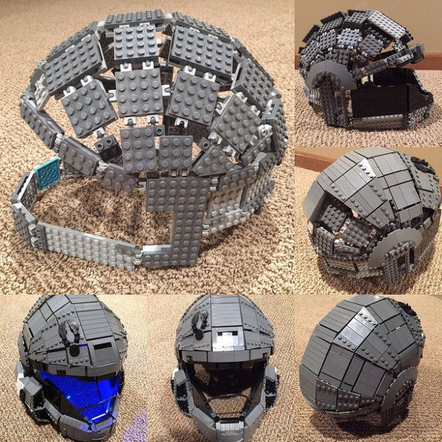 LEGO ODST Helmet - WIP photos