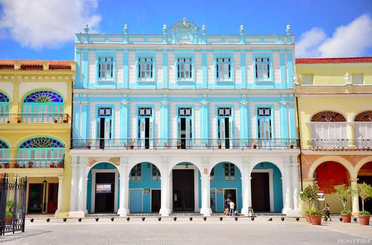 Hang out in Plaza Vieja. | Buzzfeed's 18 Things To See And Do In Cuba