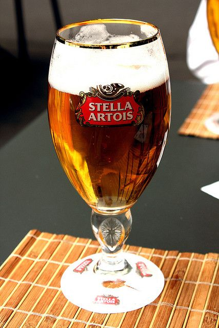Stella Artois | Flickr: Intercambio de fotos. I like a nice beer every so often and if you do to here's one to try draft or bottle doesn't matter.