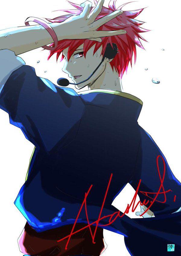 Akashi Seijūrō 赤司 征十郎 | Rakuzan Kōkō | Kuroko no Basket | #赤司征十郎版夜の真剣お絵かき60分一本勝負 こんな素敵なお題有り難うございます!!><。踊ってる赤司くん描きたくて…これコートなんですが、、、見えないT_T 正面描きたかった;;今度はバラード歌ってるヤツでリベンジ!