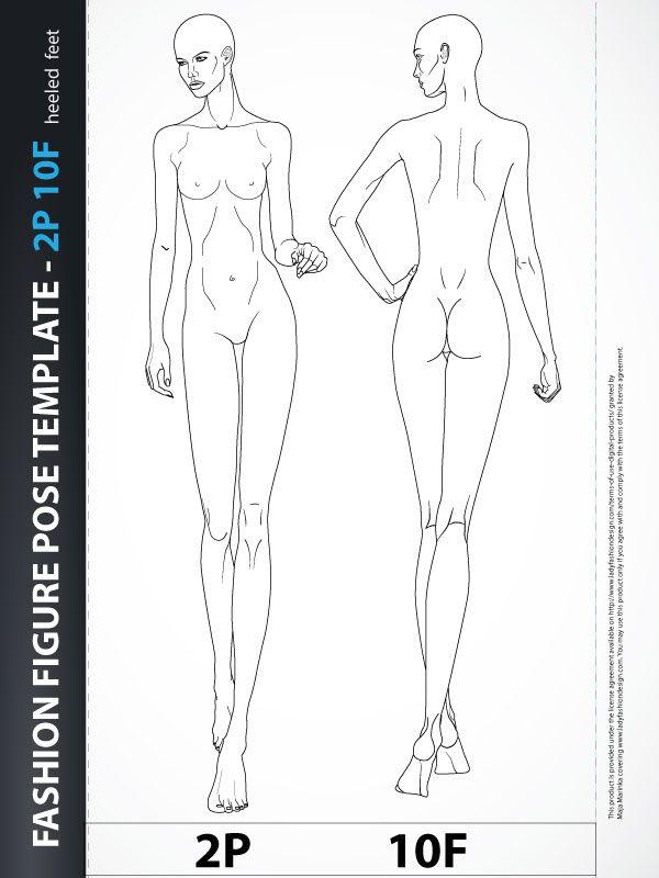 Best 25+ Fashion design template ideas on Pinterest Fashion - blank fashion design templates