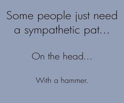 With a hammer...Funny Pictures, The Face, Quote, Too Funny, Make Me Laugh, So True, Funny Stuff, So Funny, True Stories