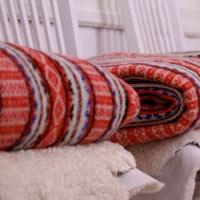 """Leksandsfilten - """"The Leksand blanket"""""""