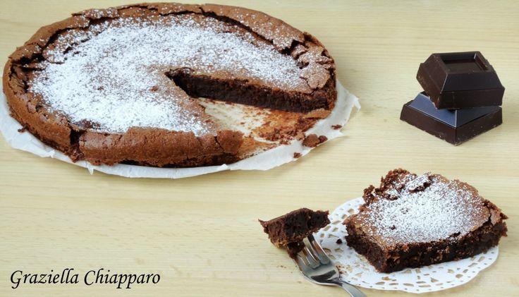 Torta+tenerina+al+cioccolato+ +Ricetta+tipica+di+Ferrara