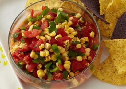 Delicious Ideas For Corn | Corn Salsa, Lime Juice and Cider Vinegar