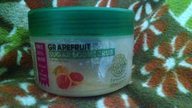 Alive n Kicking: The Nature's Co. Grapefruit Sugar Body Scrub Revie...