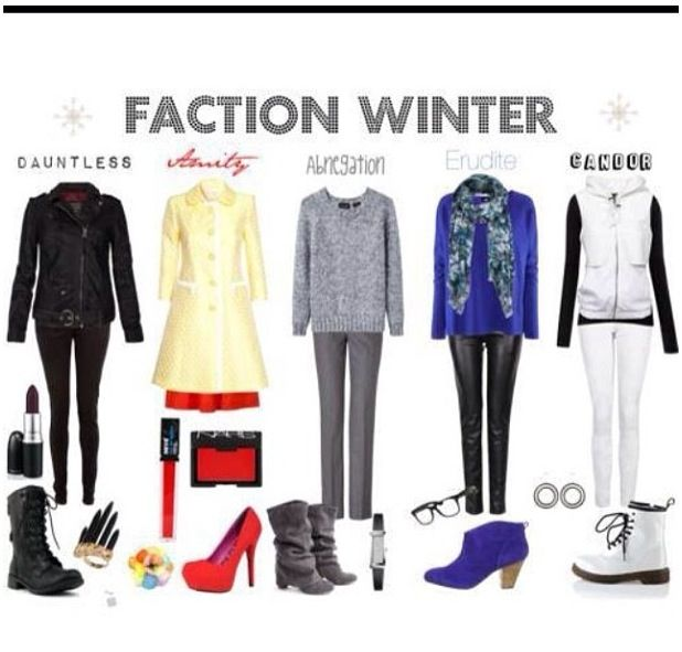 Faction winter outfits