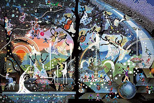 Seiji Fujishiro*藤城清治「愛の泉」(2004)