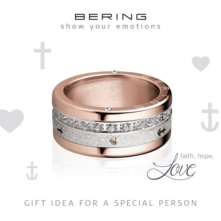 Love; Faith; Hope; Show your emotions; Individual rings; Arctic Symphony Collection