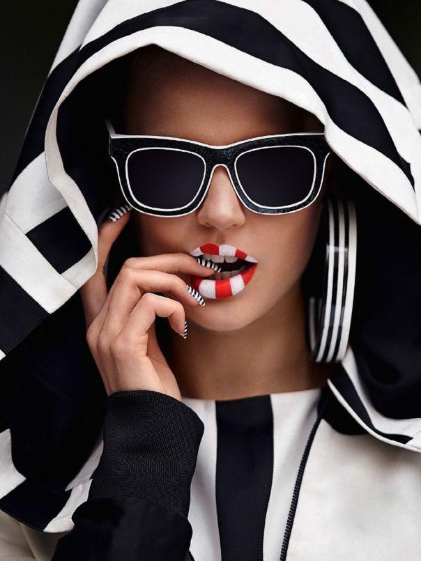 Black  White Stripes Forever