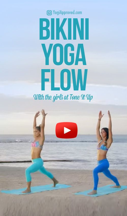 Bikini Yoga Flow (Video)