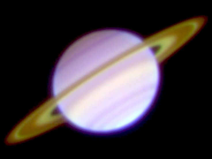 Saturn's rings viewed in the mid-infrared show bright cassini division