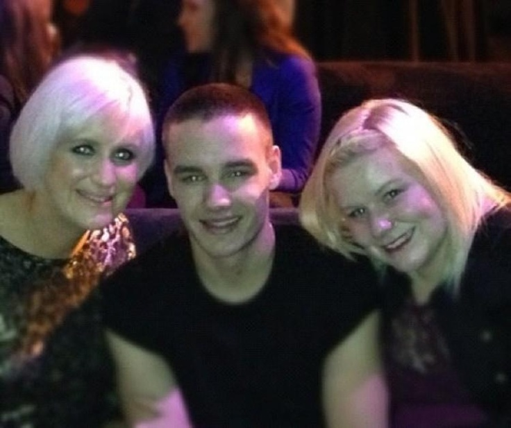 Liam Payne and his sisters Nicola and Ruth