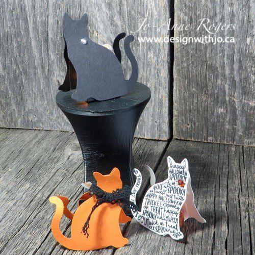 Spooky Cat Hershey's Kiss Treat Holder