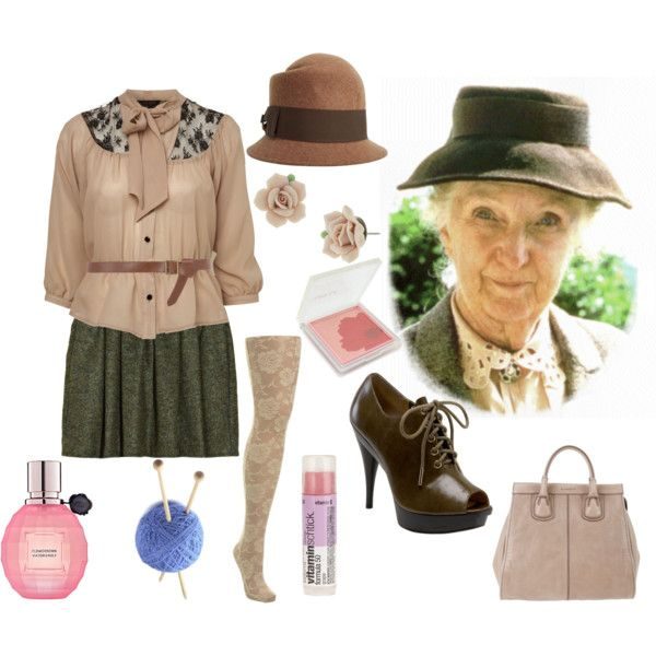 Miss Marple, created by historychick on Polyvore
