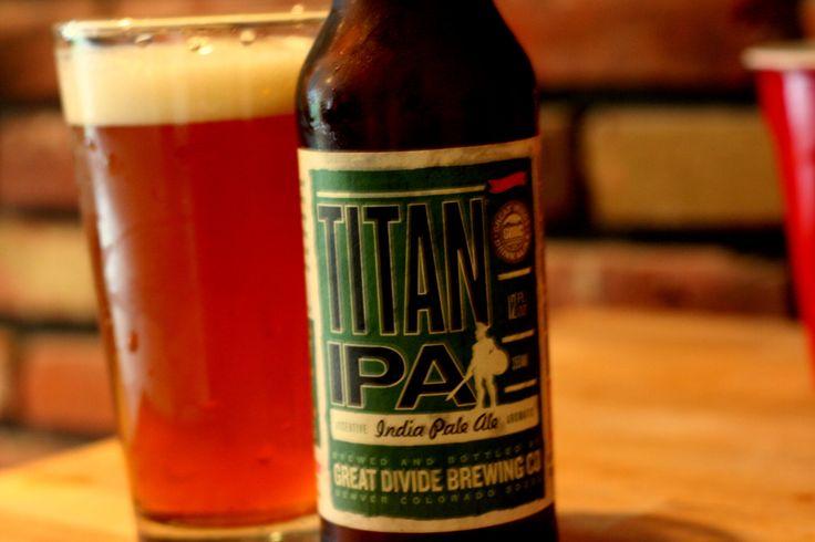 Great Divide Titan IPA: Drinks Beer, Titanic Ipa, Dividers Titanic, Favorite Beer
