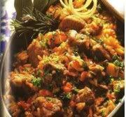 Etli Pirinc Pilavi Acili (Pittig Gekruid Vlees Met Rijst) recept | Smulweb.nl